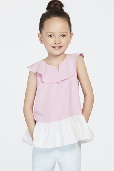 The Cherry Blossom | Buy Quality Blouses for Girls Online Malaysia | RoundAges