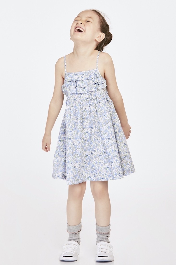 The Tropical Garden | Buy Quality Dresses for Girls Online Malaysia | RoundAges