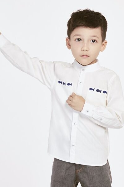Through The Aquarium | Buy Shirts for Boys Online Malaysia | RoundAges