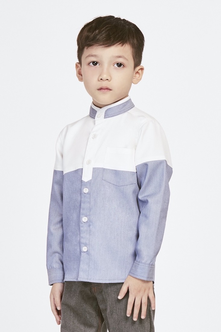 The Skyline | Buy Shirts for Boys Online Malaysia | RoundAges