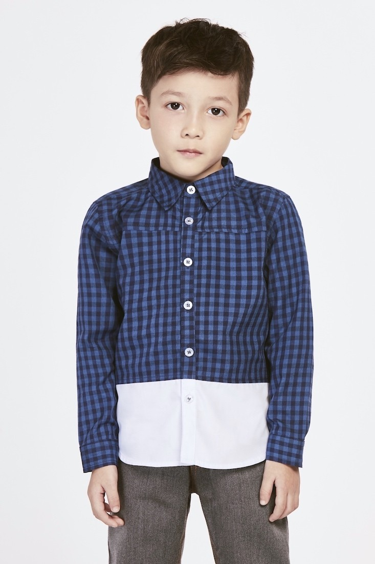 The Whiteout | Buy Shirts for Boys Online Malaysia | RoundAges