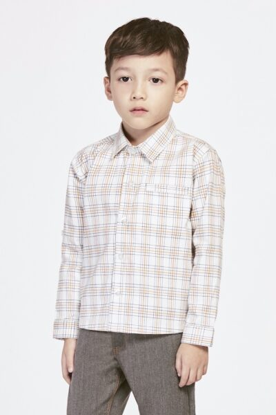 All Lined Up | Buy Shirts for Boys Online Malaysia | RoundAges