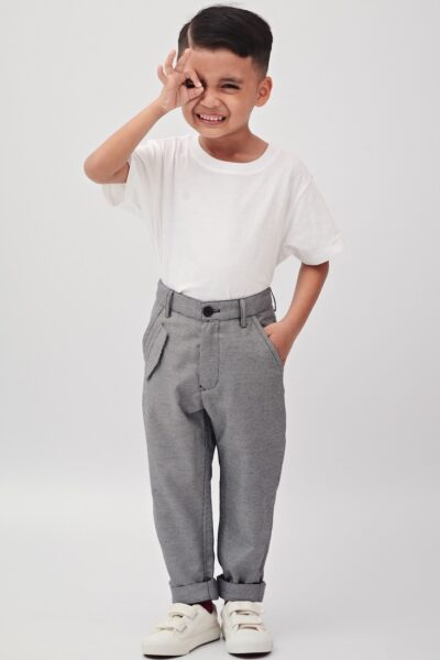The Gentleman | Buy Trousers for Boys Online Malaysia | RoundAges