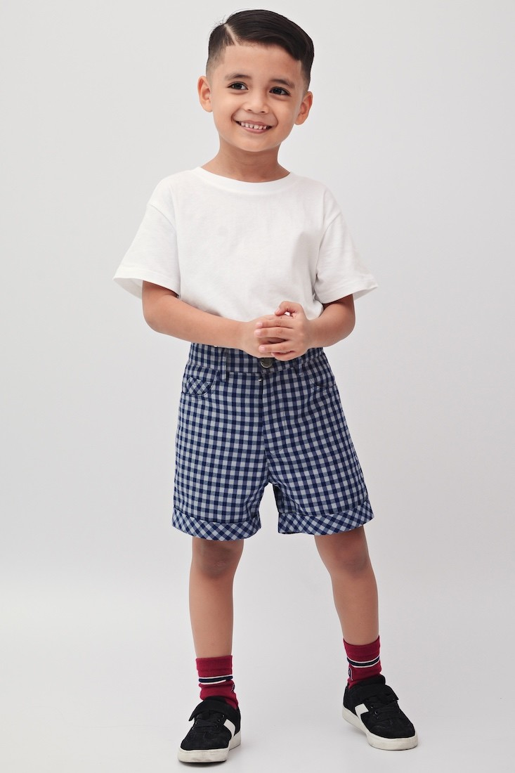 The Checkerboard | Buy Quality Shorts for Boys | RoundAges Online Malaysia